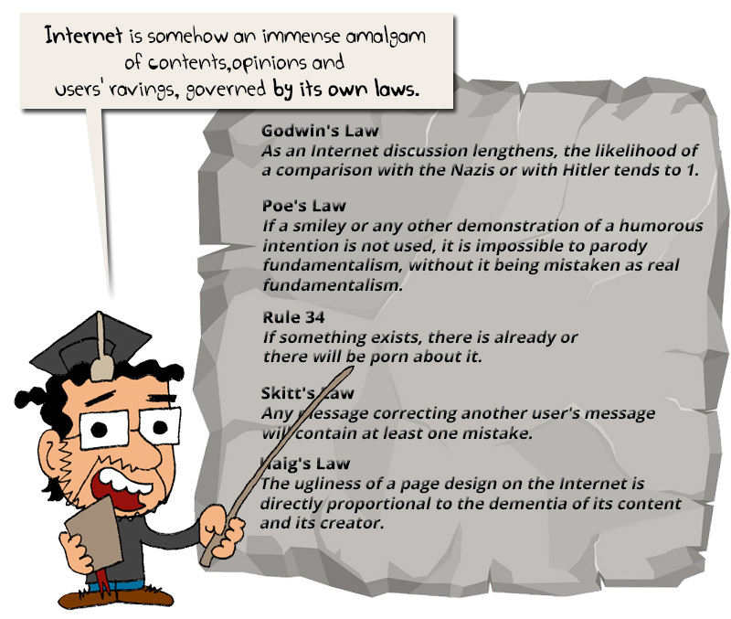 laws of internet
